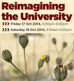 Reimagining the University